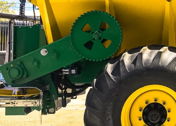 Landaco Spreader Ground Drive Gearbox Overdrive