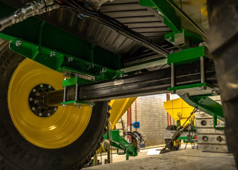 Landaco Solid axle spreader