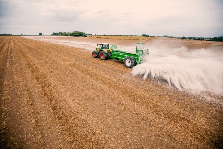 Bunning Muck Spreader Spreading Lime (Lime, Gypsum, Bulk material, manure, Compost)