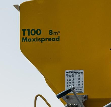 Maxispread T100 Sticker