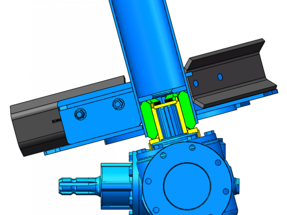blue-auger-with-blades-and-drive-coupling